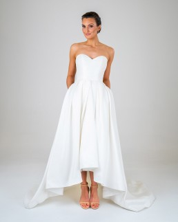 Alice wedding dress front