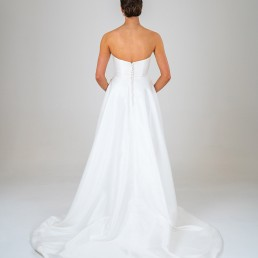 Alice wedding dress back