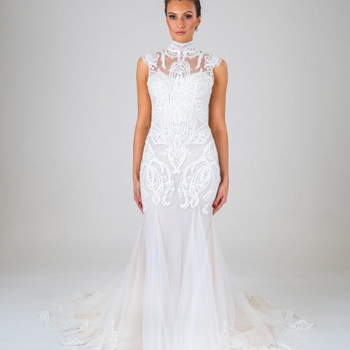 Amelia wedding dress front