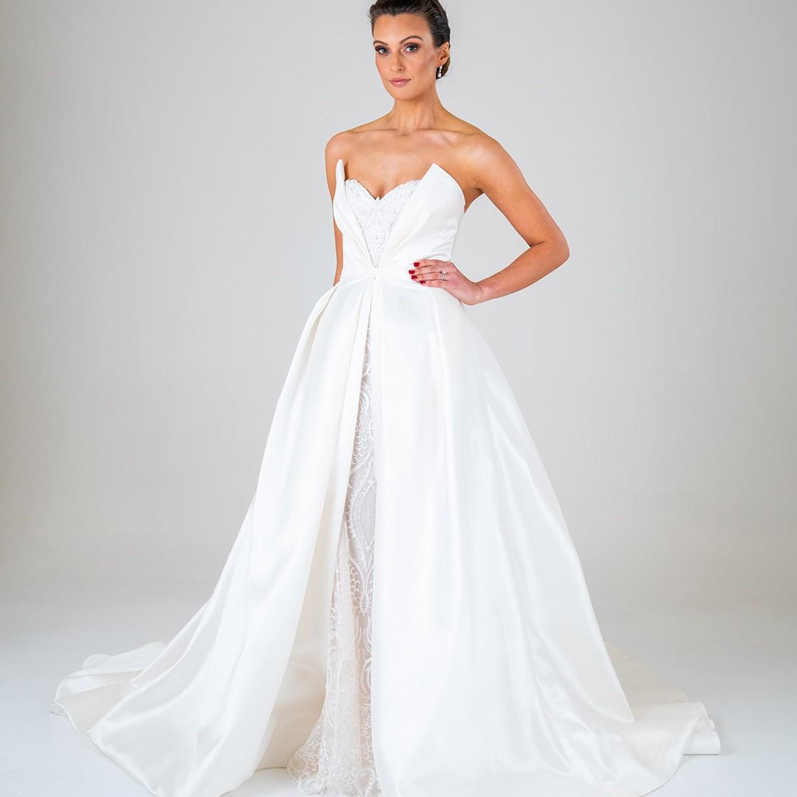 Aurora wedding dress front