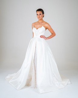 Aurora wedding dress front
