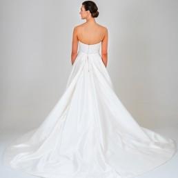 Aurora wedding dress back