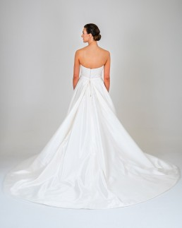 Aurora wedding dress back