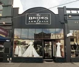 Brides of Armadale shop front