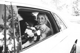 Amelia Wedding Bouquet Car