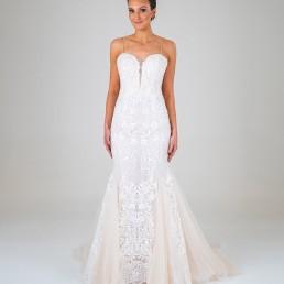 Celine wedding dress front