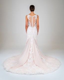 Charlotte wedding dress back