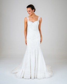 Charlotte wedding dress front