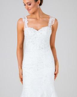 Charlotte wedding dress front