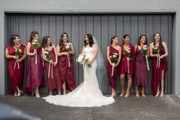 Charlotte Gown bridal party