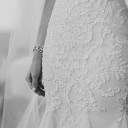 Florence Blush Lace close up