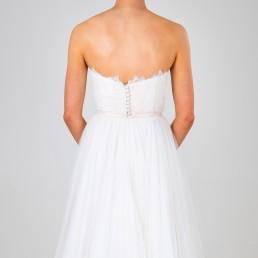 Cordelia wedding dress back