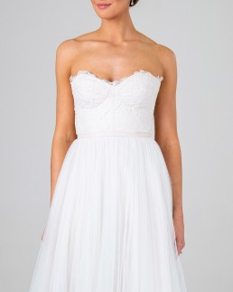 Cordelia wedding dress front