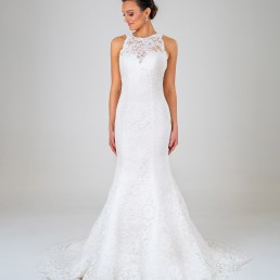 Ella wedding dress front