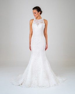 Ella wedding dress front
