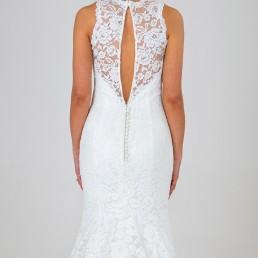 Ella wedding dress back