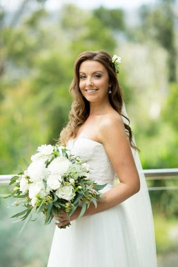 Cordelia Blush Ivory Wedding Gown