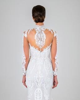 Esmerelda wedding dress back