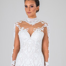 Esmerelda wedding dress front