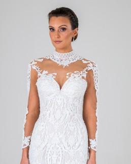 Esmerelda wedding dress front