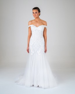 Fern wedding dress front