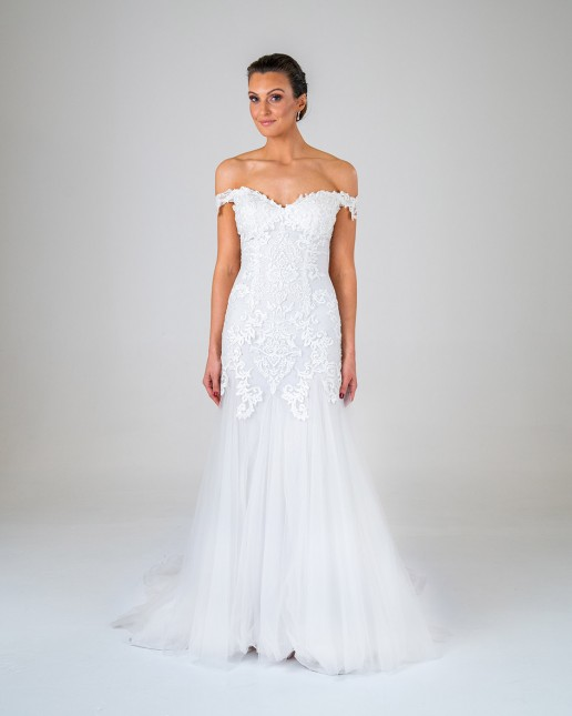 Fern wedding dress front