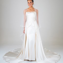 Fiona wedding dress front