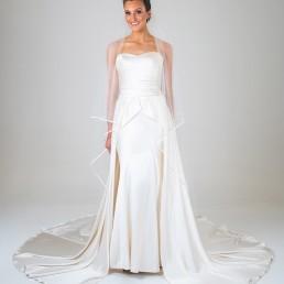 Fiona wedding dress front