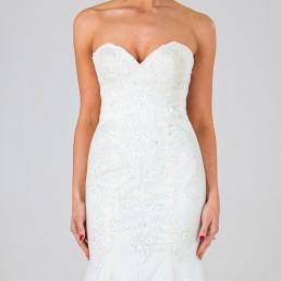 Florence wedding dress front