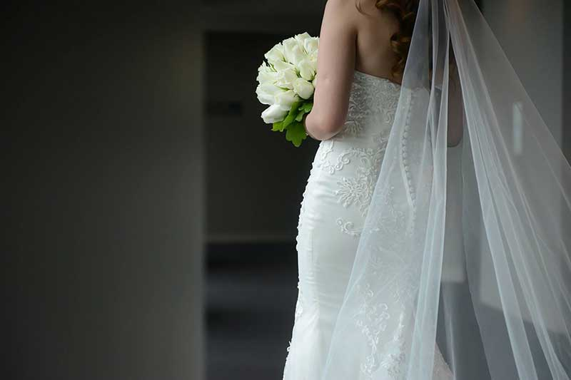 Florence Gown bouquet