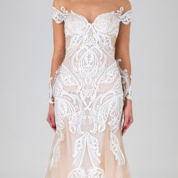 Gene wedding dress front