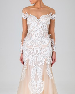 Gene wedding dress front