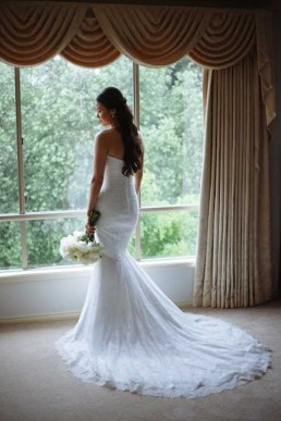 Maisie Wedding Gown window