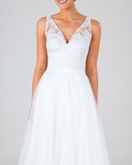Jane wedding dress front