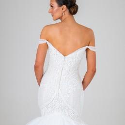 Juliette wedding dress back