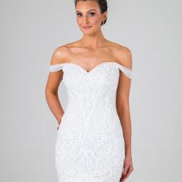 Juliette wedding dress front