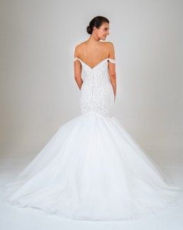 Juliette wedding dress back