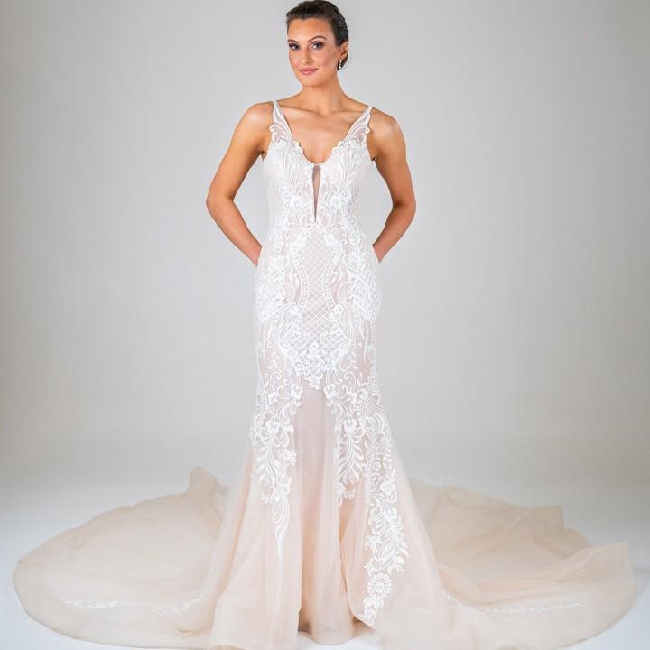 Kimberely wedding dress front
