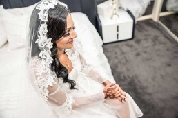 Lace Veil wedding dress