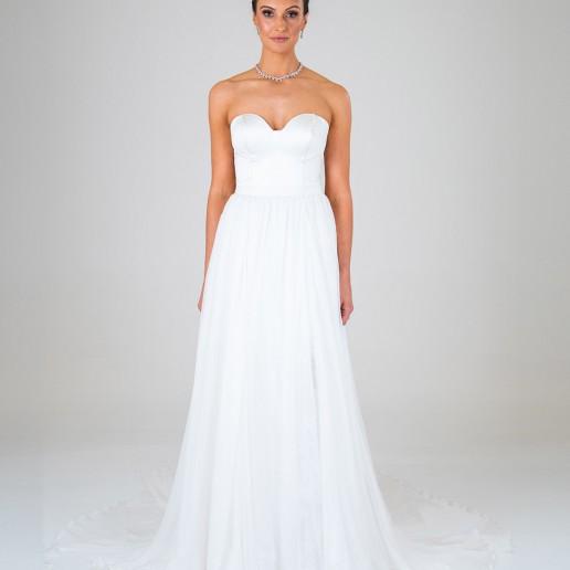 Lola wedding dress front
