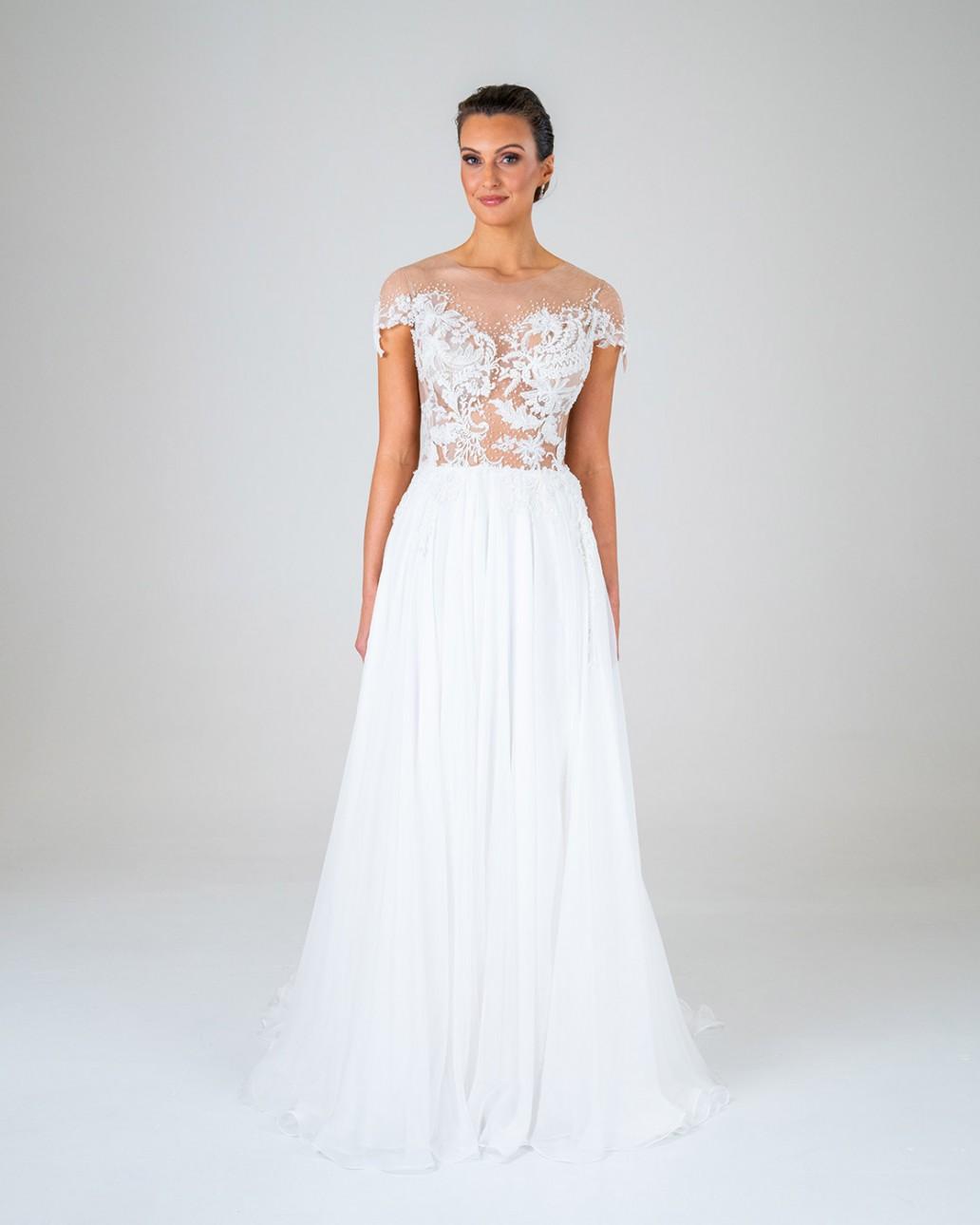 Marissa wedding dress front