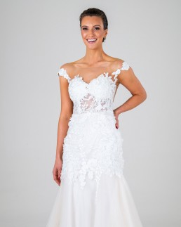 Mia wedding dress front