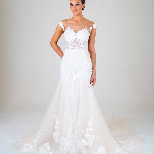 Mia wedding dress front