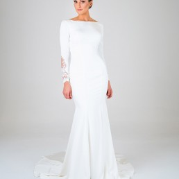 Ophelia wedding dress front