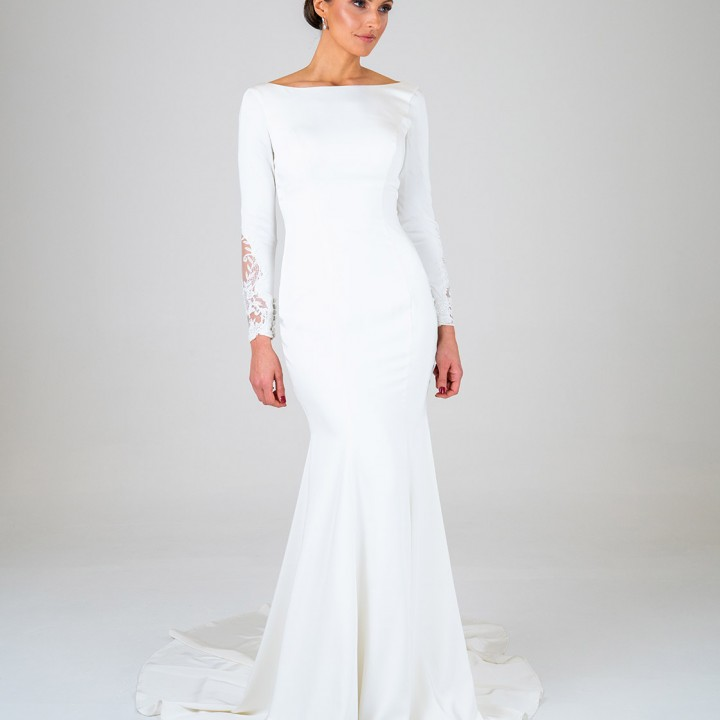 Ophelia wedding dress front