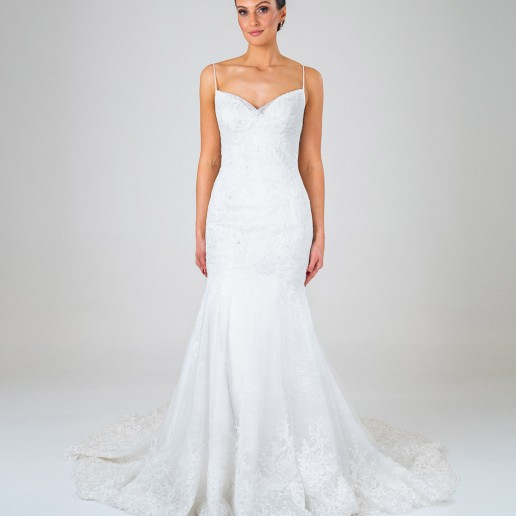 Samantha wedding dress front
