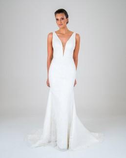 Vanessa wedding dress front