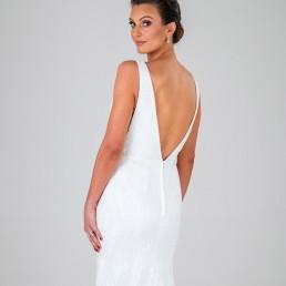 Vanessa wedding dress back